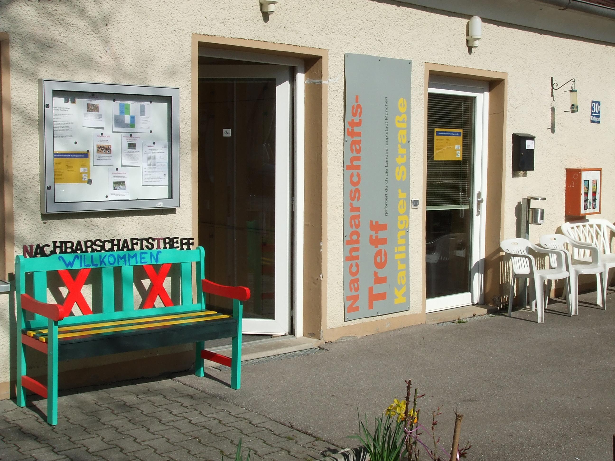 Nachbarschaftstreff in der Karlingerstraße